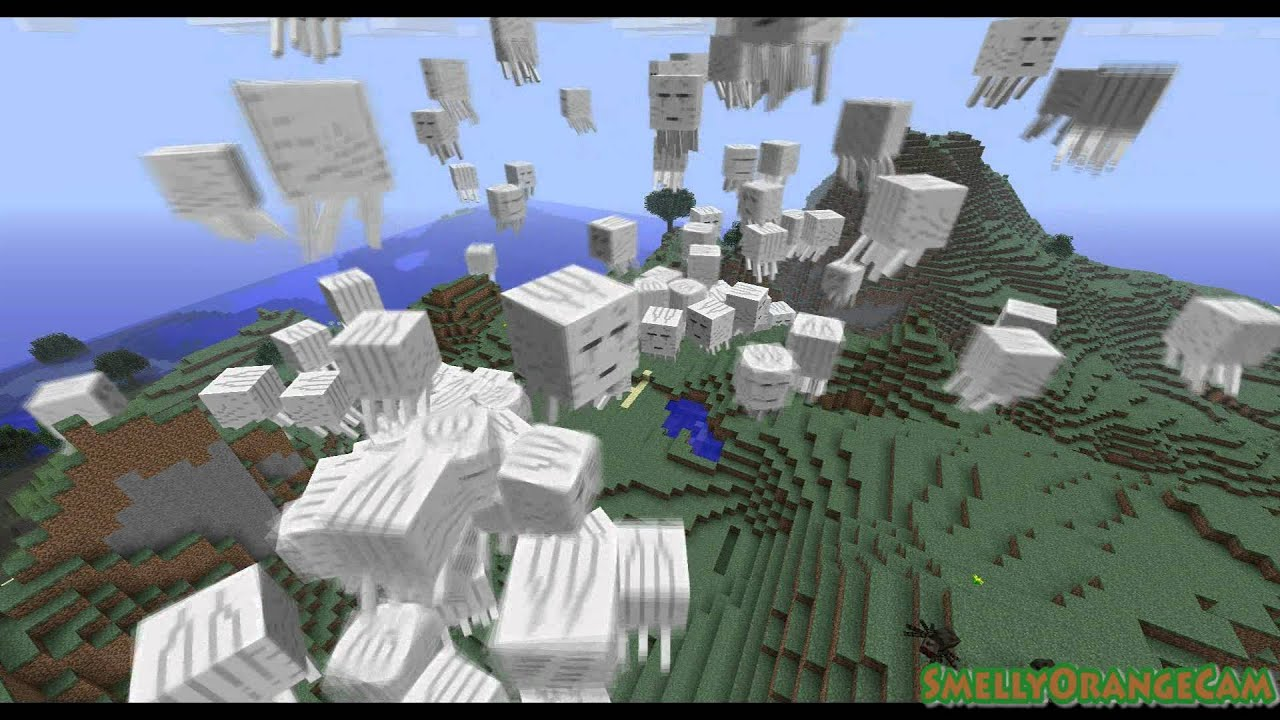 how to find a ghast in minecraft