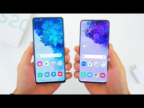 Samsung Galaxy S20 FE (Fan Edition) vs. S20 Flagship - What's The Difference?