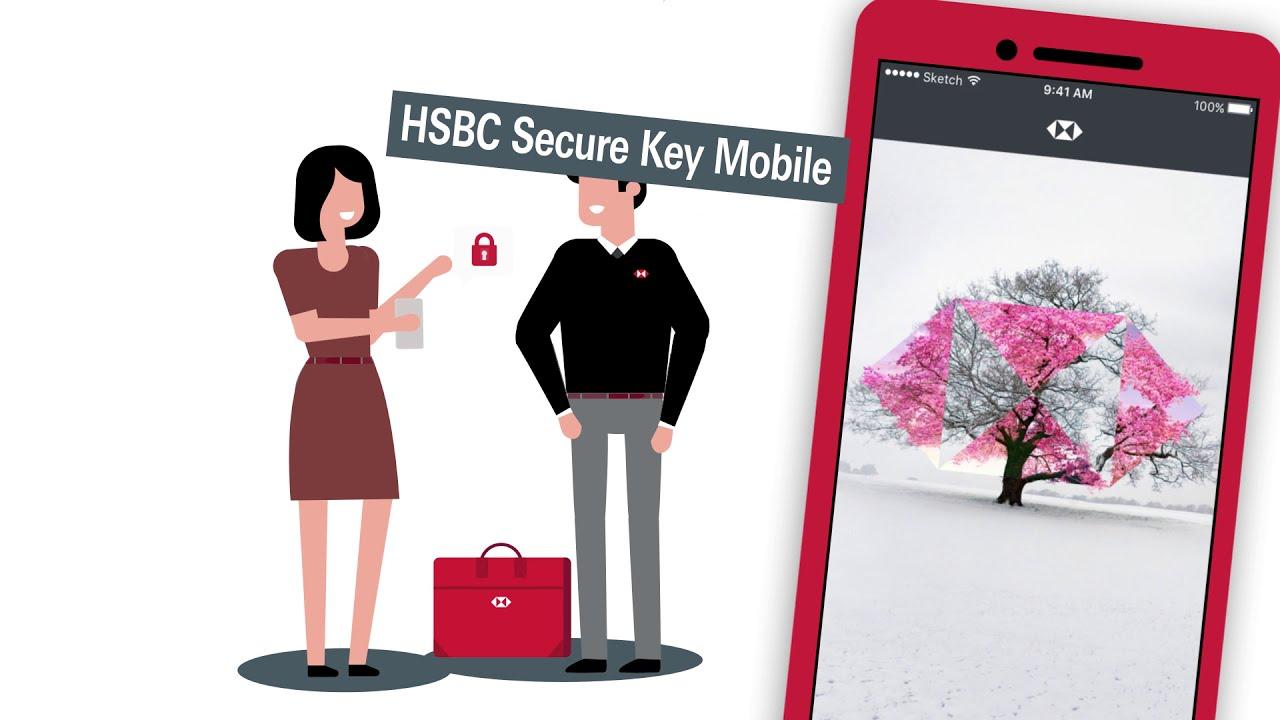 HSBC Secure Key mobile : Comment activer votre accès sécurisé sur votre smartphone ?