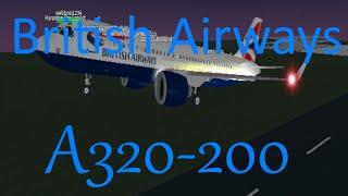 Roblox-British Airways ||Airbus A320 Flight