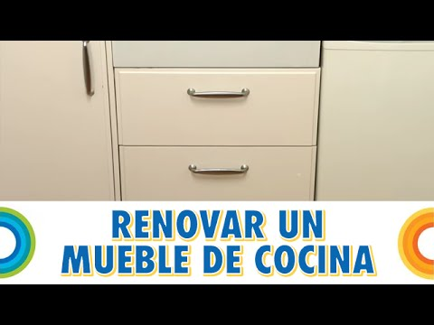 reparar mueble de cocina con puerta rota bricocrack