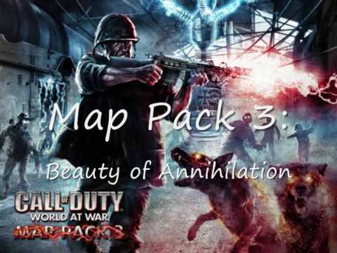 Call of Duty World at War Nazi Zombies songs: Map Pack 3, Beauty of ...