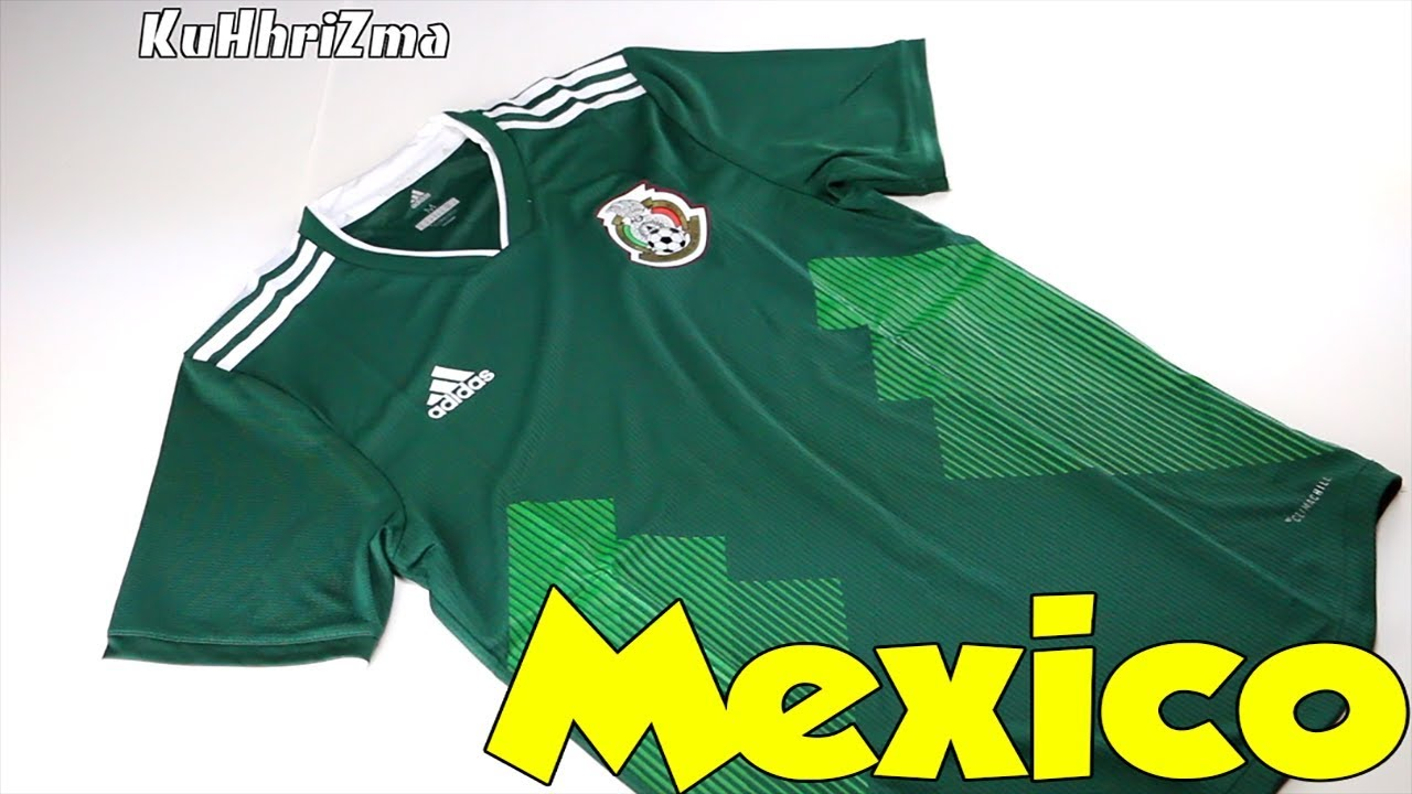 2c9a08be6 World Cup 2018 Adidas Home Mexico Jersey Unboxing + Review - YouTube