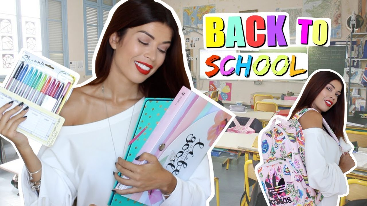 achats fourniture scolaire concours back to school youtube. Black Bedroom Furniture Sets. Home Design Ideas