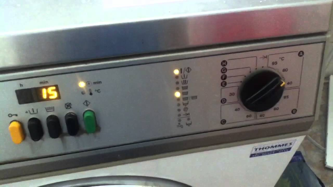 Miele professional ws 5426 mc13 cottons 60 part 2 3 youtube - Miele professional ...