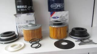 Сравнение масляных фильтров Mahle OC593/3 и Goodwill OG-118
