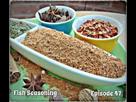 How To Make A Fish Seasoning In 5 Minutes | Episode 47
