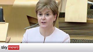 COVID-19 - Nicola Sturgeon confirms delay to lockdown easing in Scotland