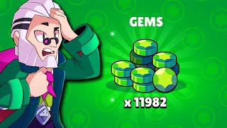 The Biggest Brawl Stars Gem Drop EVER!