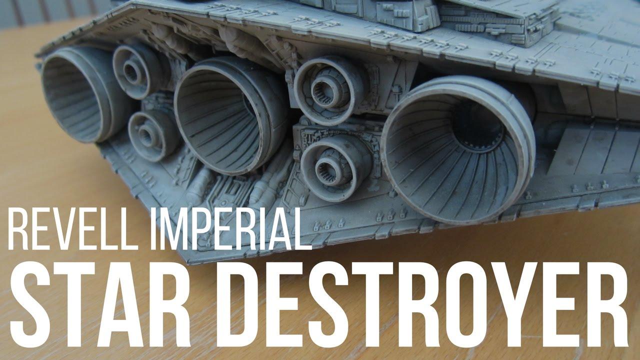 Star Destroyer Model Kit Build by Revell