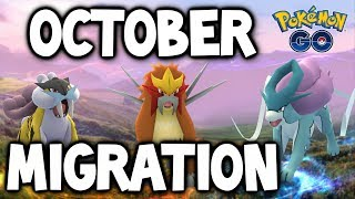 LEGENDARY BEAST HAVE OFFICIALLY SWAPPED IN POKEMON GO! (Entei, Suicune & Raikou)