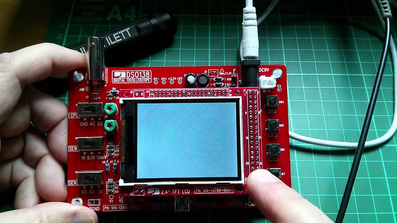 Julians kit build fail banggood 15 23 oscilloscope kit youtube solutioingenieria Image collections