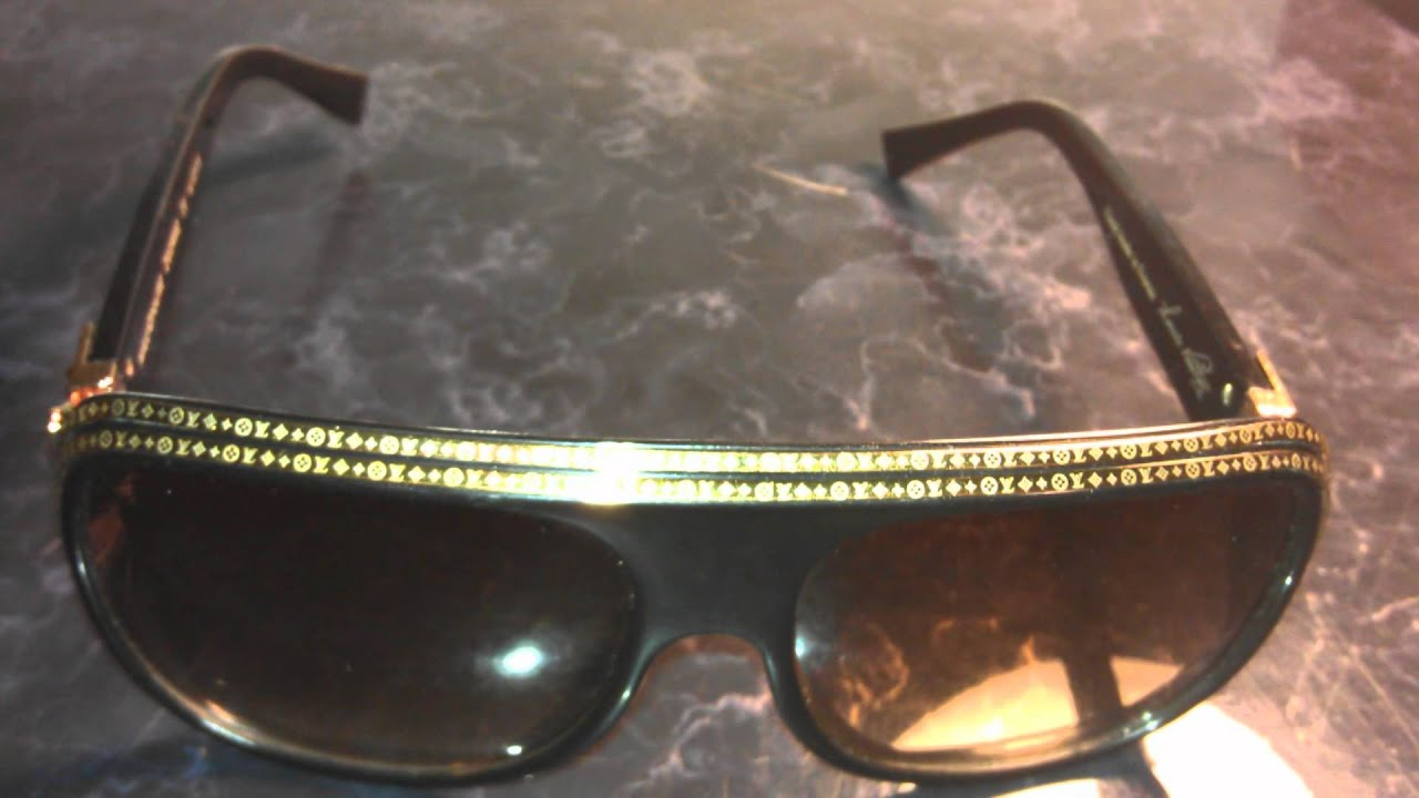 2a86f6eb0fb1 Louis Vuitton Millionaire Sunglasses Best Quality  200.00 - YouTube