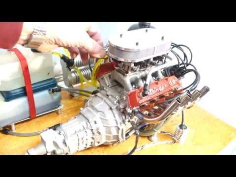 stinger 609 conley V8 engine running   HD