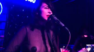 "Dum Dum Girls - ""Bedroom Eyes"", live from Backstage Bar and"