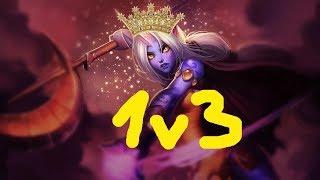 Soraka amazing 1v3 | League Of Legends