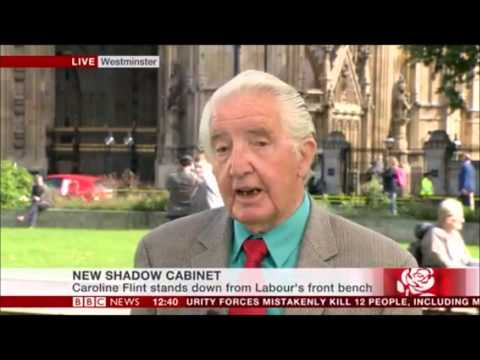 Dennis Skinner on Jeremy Corbyn BBC news 14.09.2015 (( the end is brilliant))