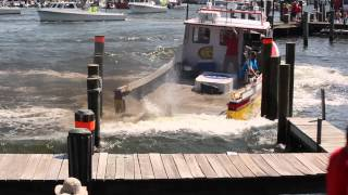 2014 Crisfield Maryland Boat Docking Competition
