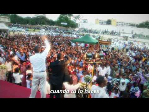 Holy Spirit Fire and Miracles in AFRICA!