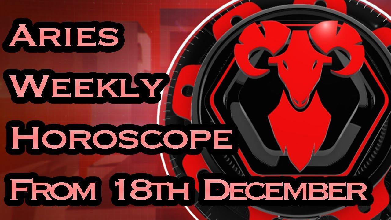 aries weekly horoscope 27 december