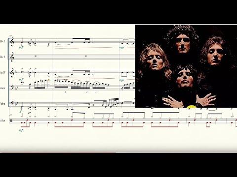 Bohemian Rhapsody for Brass Quintet Sheet Music