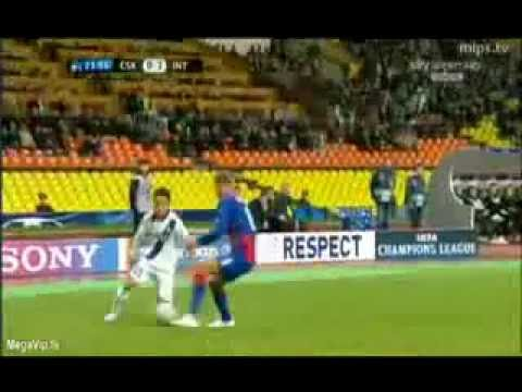 CSKA MOSCA INTER 2-3 HIGHLIGHTS AMPIA SINTESI SKY SPORT HD CHAMPIONS LEAGUE 27 09 11