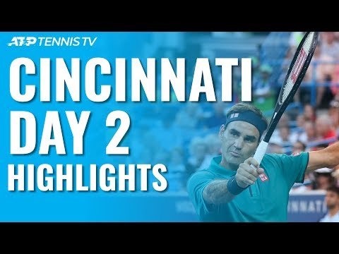 Federer and Djokovic Cruise; Wawrinka Wins Epic v Dimitrov | Cincinnati 2019 Day 2 Highlights