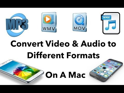 Convert Audio & Video Files to Other Formats