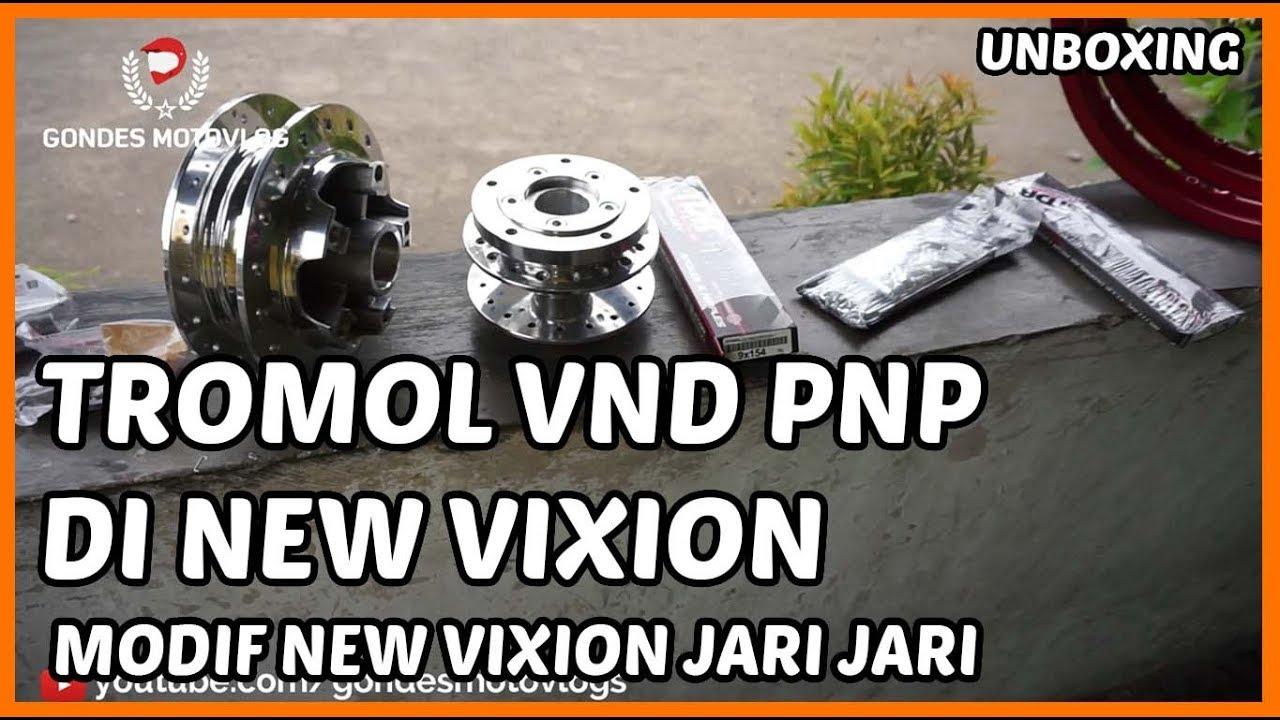 Unboxing Tromol VND dan Jari Jari TDR di New Vixion