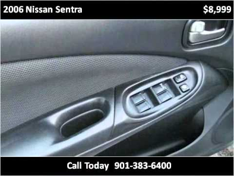 2006 Nissan Sentra Available From Bluff City Auto