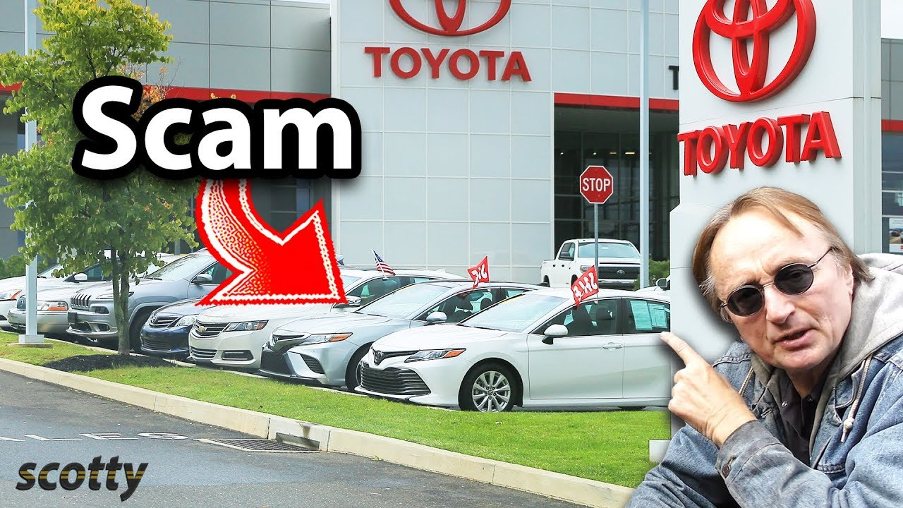 Here's How Toyota Dealerships are Scamming You