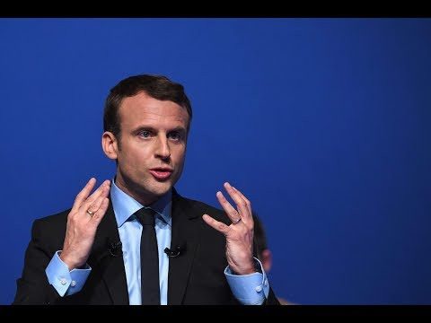 WATCH: French President Trolls Trump