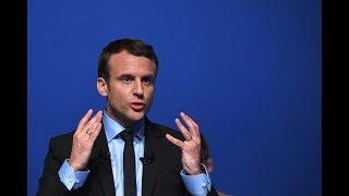 WATCH: French President Trolls Trump