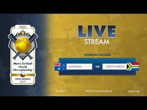 Australia v South Africa – WBSC Men's Softball World Championship 2019