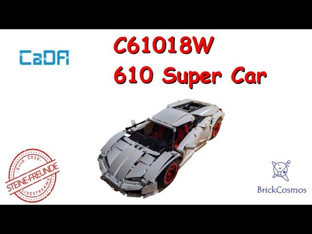 CaDA 610 Super Car C61018W