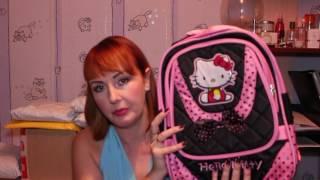 Распаковка посылки с Алиэкспресс. Ч.1. Собираем ребёнка в школу (рюкзак и пенал)(Собрать ребёнка в школу - непростая задача! В первой части видео