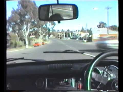 Fiatcam - a drive through Bendigo in 1985 - Part1