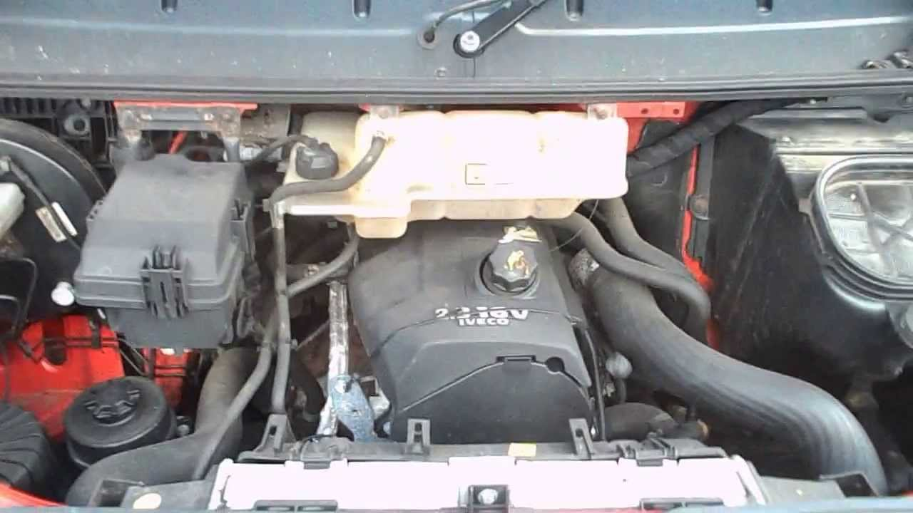 Iveco Daily 2008 2 3hpi 35s12 99k 5 Speed Engine F1ae0481