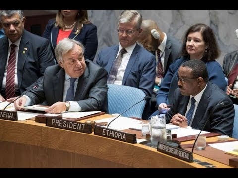 PM Hailemariam Desalegn Addressing to the 71st U.N. General Assembly (New York)