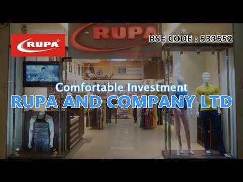 Comfortable Investment | Rupa And Company Ltd | Investing | Finance | Advise | Stocks and Shares