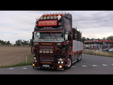 Trailer Trucking Festival 2017 Arrivals
