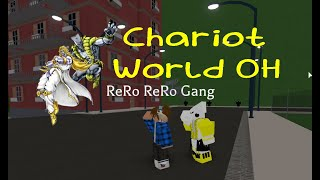 Roblox Project JoJo:OP FUSION-CHARIOT WORLD OH SHOWCASE!