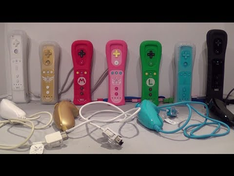 Princess Peach Wii Remote Plus Unboxing