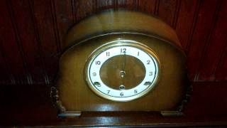Vintage Bentima Westminster Chime Mantel Clock