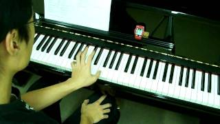 ABRSM Piano 2009-2010 Scales Grade 7 - 5b. Staccato Sixths in C LH at 52