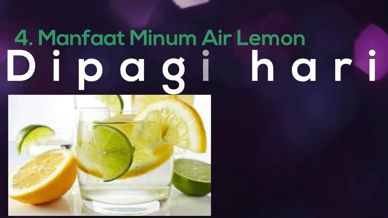 7 Manfaat Minum Air Lemon Hangat di Pagi Hari
