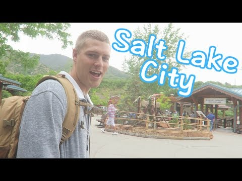 First day in Salt Lake City!