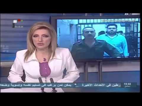 President Bashar al-Assad receiving al-Nouri and al-Hajjar
