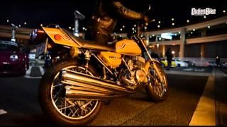 現在発売中のオールディーズバイクVol1、姉妹紙旧車浪漫第三号で共同撮...