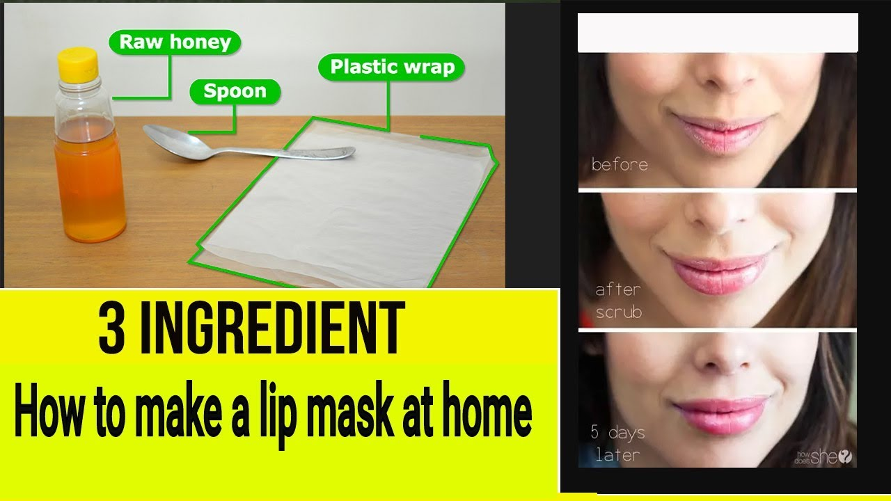 How to Make a Lip Mask